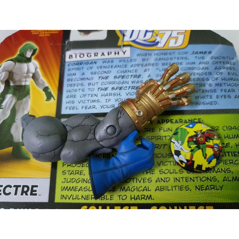 Combo phần tay phải của Darkseid BAF