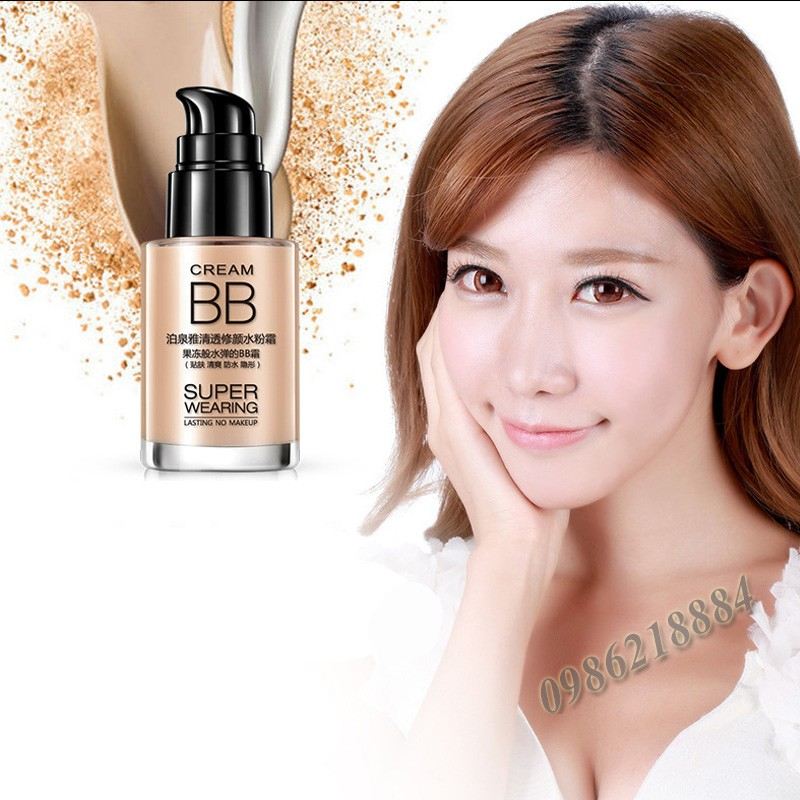 Kem Nền BB Cream Super Wearing Bioaqua KB39