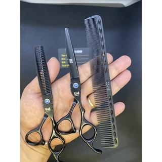 Bộ kéo cắt tóc Nhật nhập khẩu sắc bén và bền bỉ Kai Kasho K2 ( Tặng bao da+lược Tony + lọ dầu+ miếng da+ khóa) thumbnail