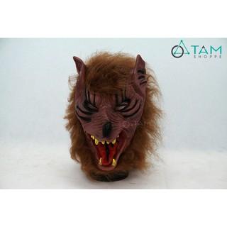 Mặt nạ Halloween đầu sói số 04 TAN