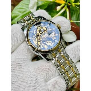 (Mẫu Mới) Đồng hồ nam tevise chính hãng t9005e cơ lộ máy cao cấp đủ màu dây thép đúc (tặng kèm hộp) thumbnail