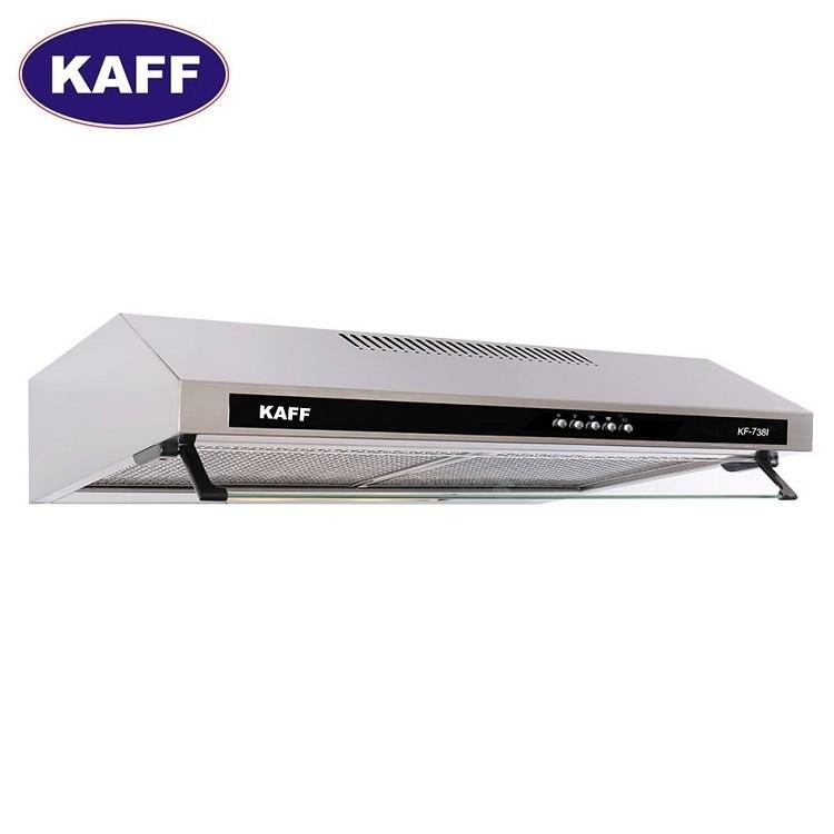 Máy hút khói khử mùi bếp 7 tấc inox Kaff KF-738i