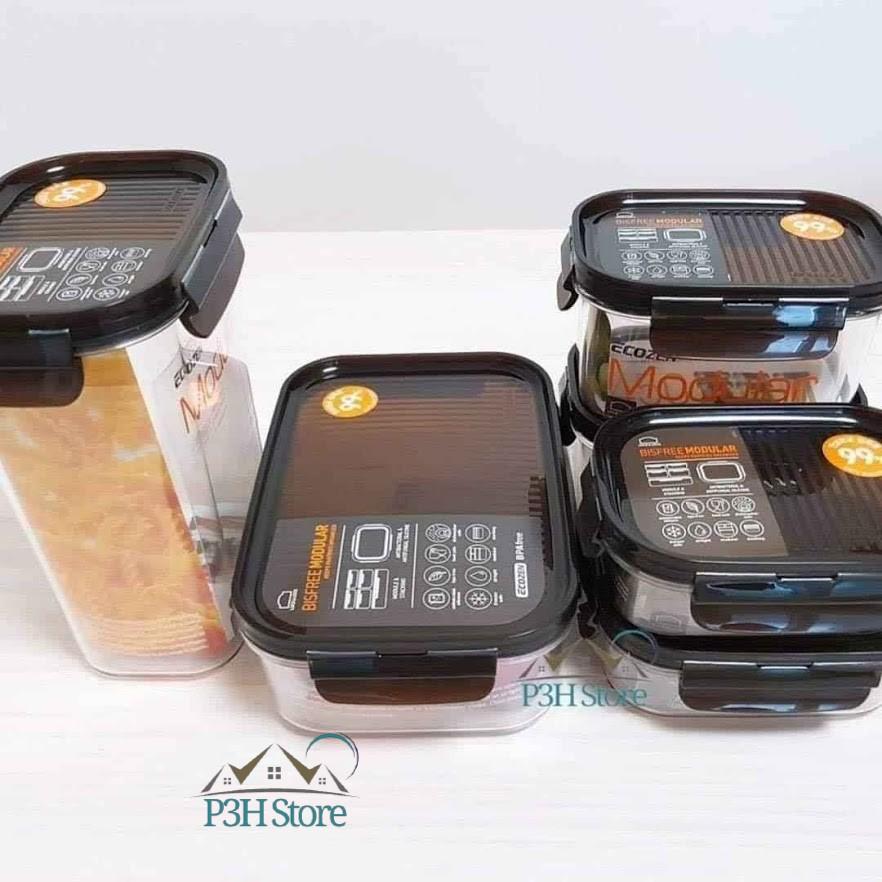 Hộp nhựa tritan Lock&Lock Bisfree Modular an toàn bảo quản thực phẩm kín hơi dễ dàng xếp chồng
