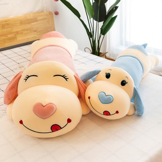 Papa dog doll pillow bed cute plush toy doll super soft removable and washable girl sleeping big doll male