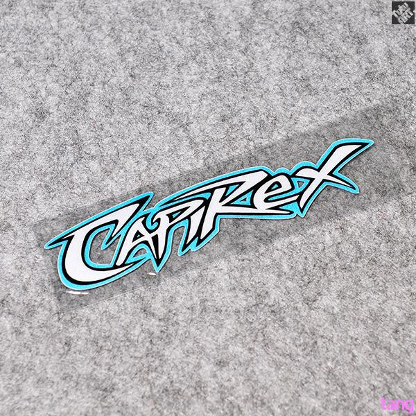 No. 65 driver CAPIREX Capellosi MOTOGP reflective stickers Decals Stickers