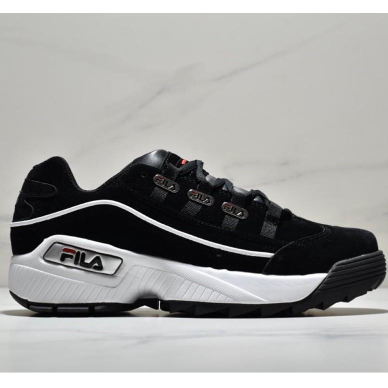 FILA ตัวครอสโอเวอร์-jet รุ่นที่สองของหนังเพื่อเพิ่มพื้นหนักของรองเท้ากีฬา/36-44
