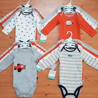 Set 4 bodysuit Carter tay dài thumbnail