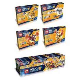 Đồ chơi lắp ráp lego nexo knights lepin 14014 trọn bộ 4 hộp như hình.