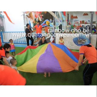 Rainbow – vải bạt nhiều màu cho trẻ