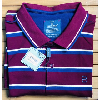 Áo Polo Bi Luxury Đỏ Sọc Trắng