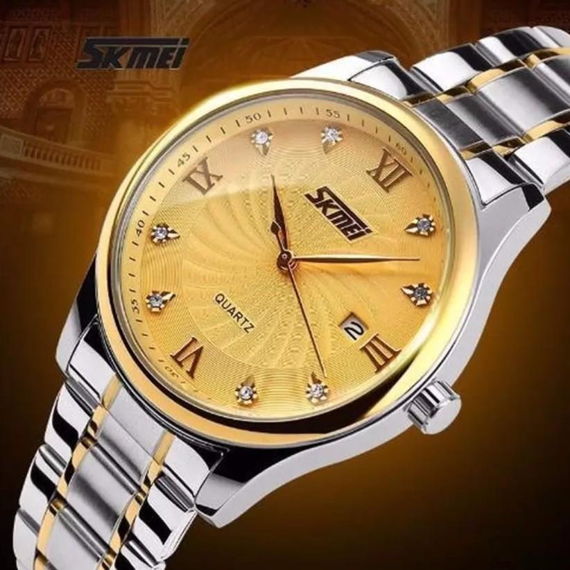 Đồng hồ nam dây thép không gỉ cao cấp SKMEI S9101B