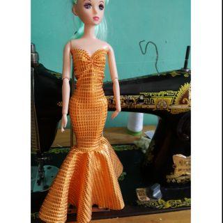Đầm dạ hội cho búp bê babie