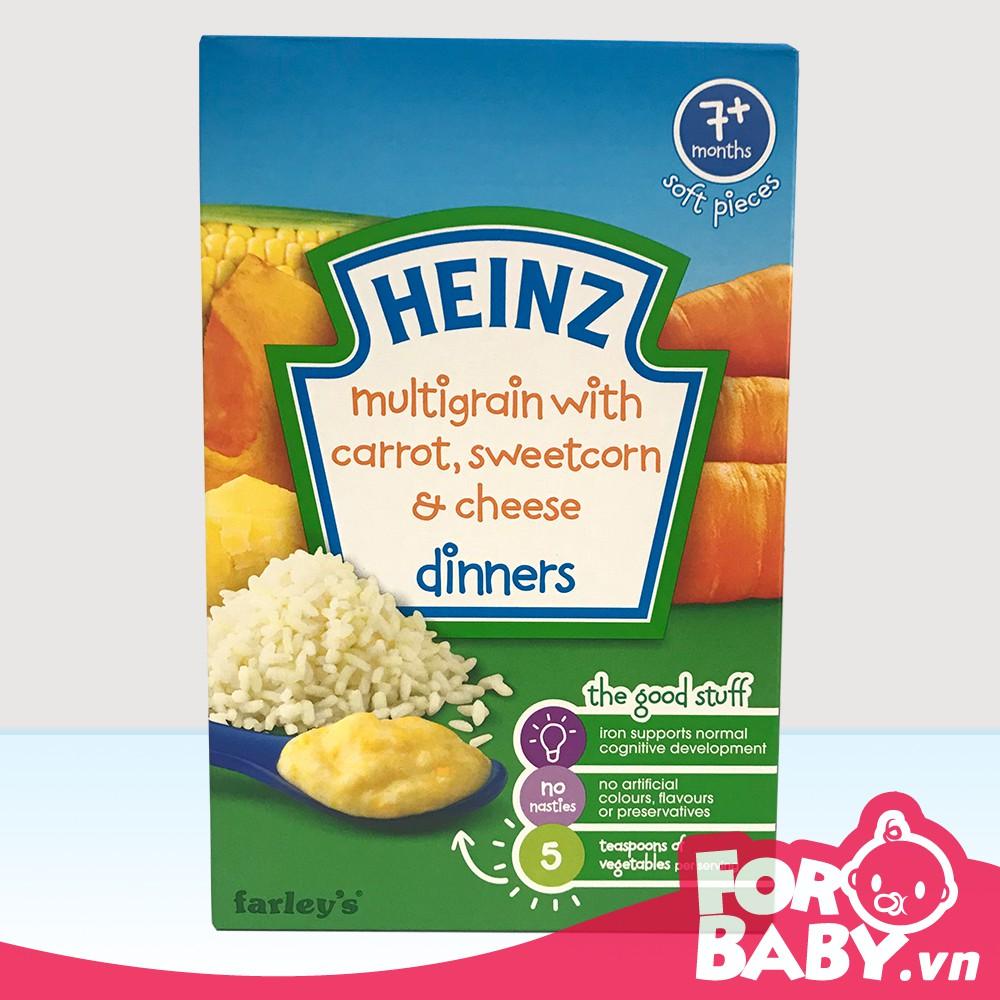 Bột ăn dặm Heinz Anh 7+ Vị ngũ cốc, cà rốt, pho mai, bắp ngọt nghiền - 3060944 , 249795020 , 322_249795020 , 85000 , Bot-an-dam-Heinz-Anh-7-Vi-ngu-coc-ca-rot-pho-mai-bap-ngot-nghien-322_249795020 , shopee.vn , Bột ăn dặm Heinz Anh 7+ Vị ngũ cốc, cà rốt, pho mai, bắp ngọt nghiền
