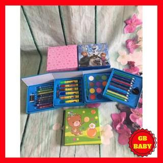 [GB BABY] Bộ tô màu hình vuông xoay 4 tầng 58 món cho bé trai và bé gái