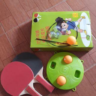 Bộ bóng bàn Free Tab bàn gỗ