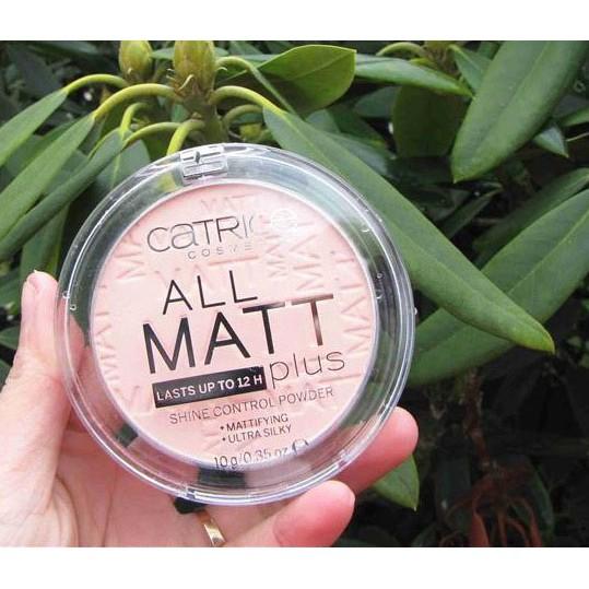 Phấn nén Catrice All Matt Plus Shine Control Powder