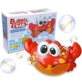 Đồ Chơi Cua Tạo Bọt Xà Bông Cho Bé Crab Bubble Blower