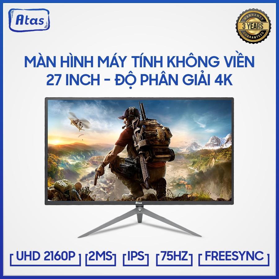 Màn hình 27 inch ATAS HD280U - Độ phân giải 4K - Tấm nền IPS