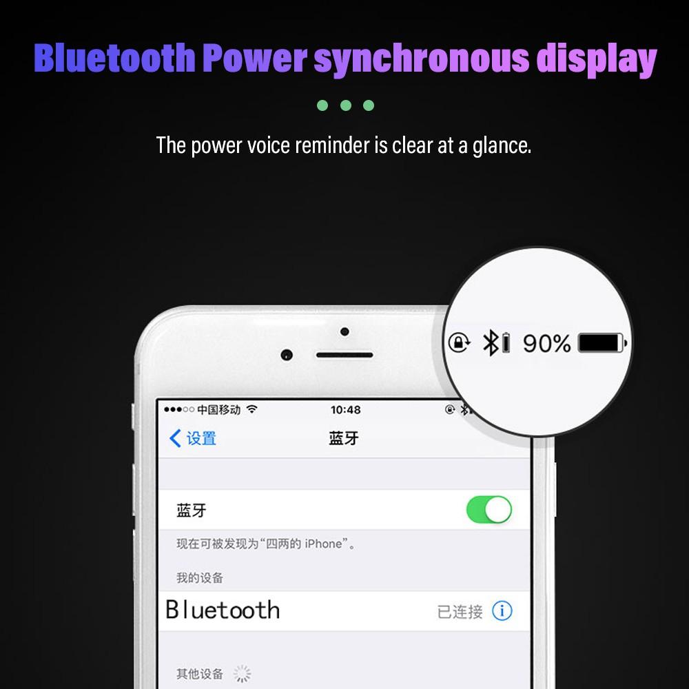 Tai nghe không dây từ tính Pulierde S56 tích hợp BT 5.0 và mic