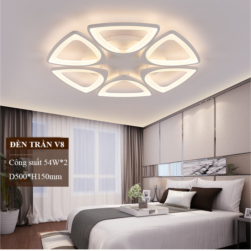 Đèn ốp trần Đèn trang trí phòng khách phòng ngủ phòng khách Trần thạch cao tiện dụng
