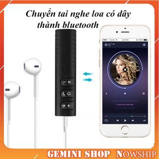 [Mã ELORDER5 giảm 10K đơn 20K] Bộ chuyển đổi Adapter Bluetooth cho tai nghe, loa, thiết bị âm thanh cắm dây
