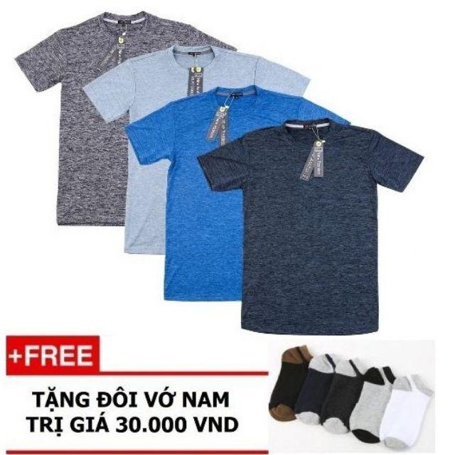 [FREESHIP khi mua 4 áo] Áo Thun Nam Thể Thao Đẹp + Tặng Tất Nam
