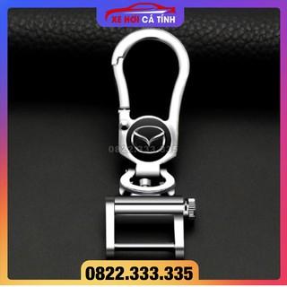 Móc Chìa Khóa ô tô Mazda Móc chìa khóa Xe Hơi Có In Logo Hãng Xe - Thiết Kế Trang Trọng, Chất liệu cao cấp thumbnail