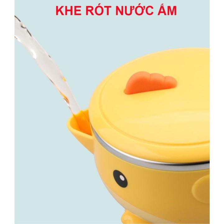 Bộ bát ăn dặm 3 món Goryeo Baby Hàn Quốc giữ nhiệt + chống rơi vỡ + chống tràn