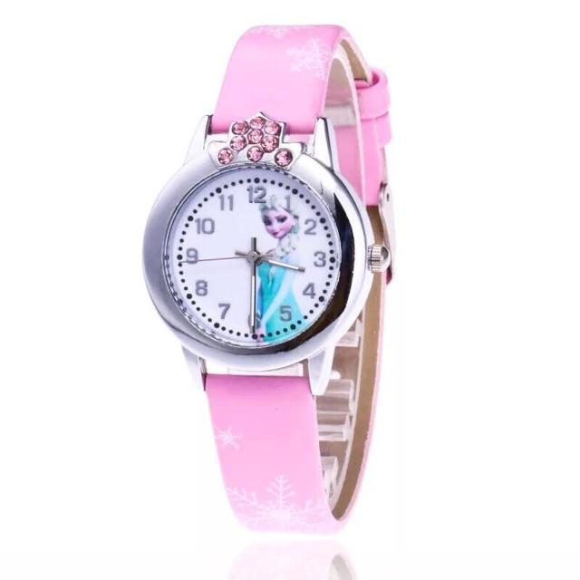 đồng hồ elsa bé gái disney