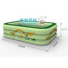 Bể Bơi Phao 3 Tầng 210x145x65cm