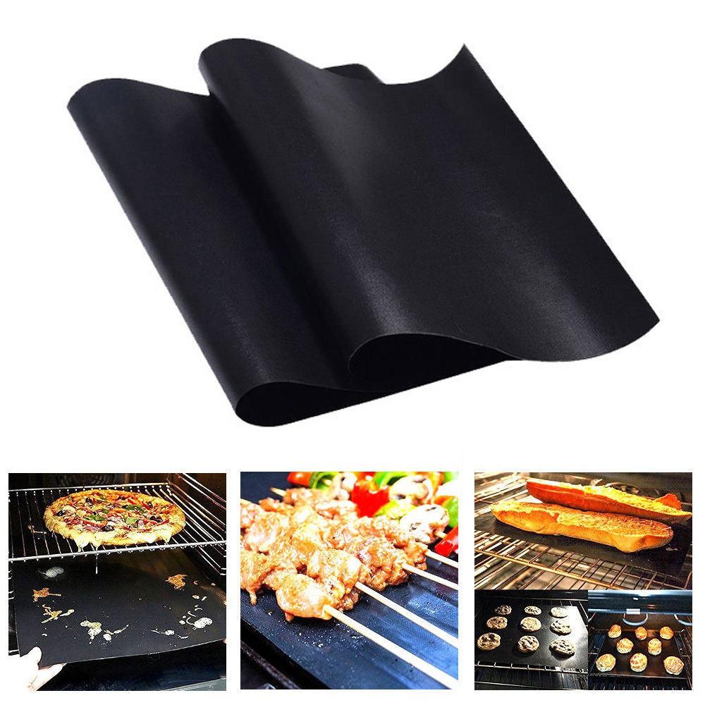 2 tấm nướng thịt chống dính có thể tái sử dụng