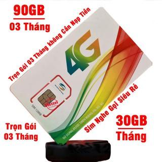 Sim 4G Viettel trọn gói Free Data 360GB/6 Tháng và nghe gọi miễn phí