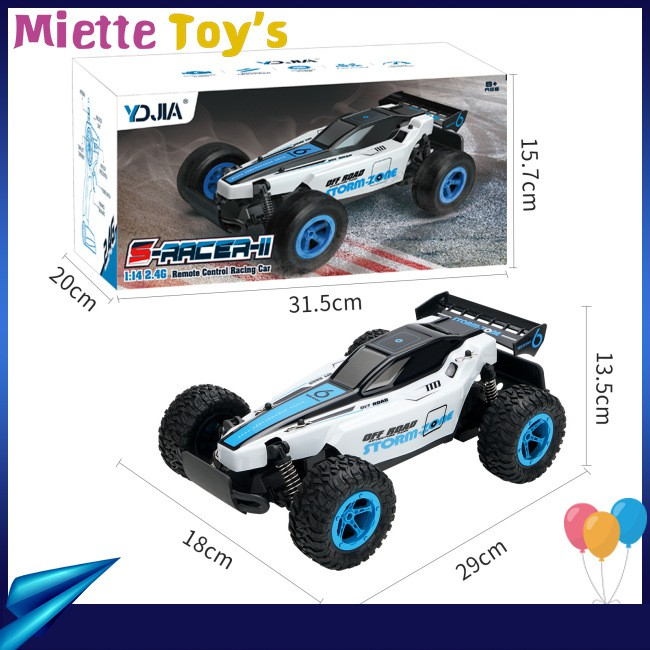 Racing Climbing RC Stunt Car Drift Vehicle Model Toy For Boy 2.4G Electric Racing Control Speed 1:14 Car High Remote...