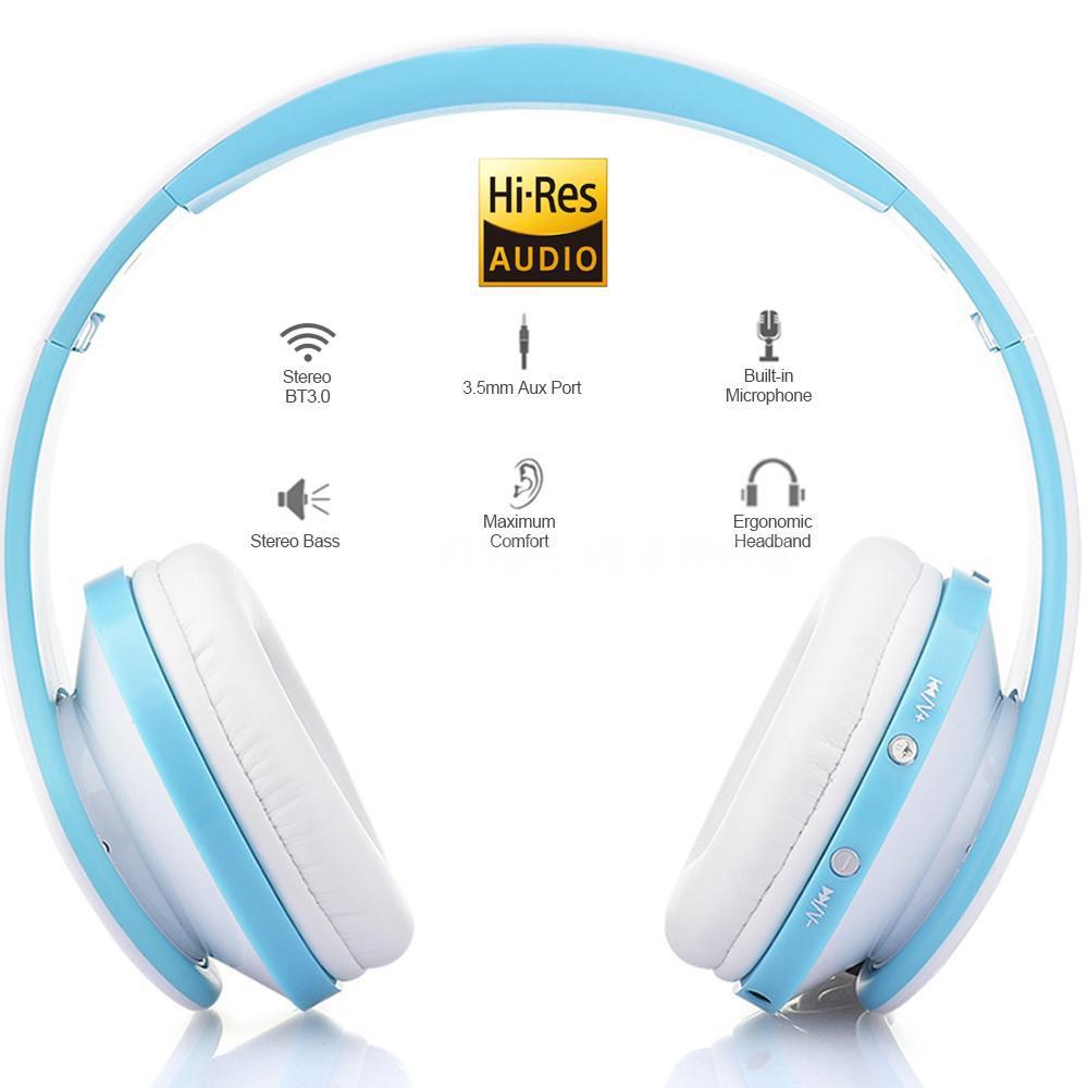 Tai nghe Bluetooth không dây âm thanh stereo có mic gấp được cho iPhone iPad - 23065348 , 2717325616 , 322_2717325616 , 291826 , Tai-nghe-Bluetooth-khong-day-am-thanh-stereo-co-mic-gap-duoc-cho-iPhone-iPad-322_2717325616 , shopee.vn , Tai nghe Bluetooth không dây âm thanh stereo có mic gấp được cho iPhone iPad