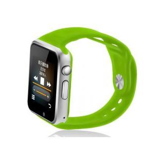 Đồng hồ thông minh W08 nghe gọi , gắn sim nghe nhạc như điện thoại màu xanh lá chuối non