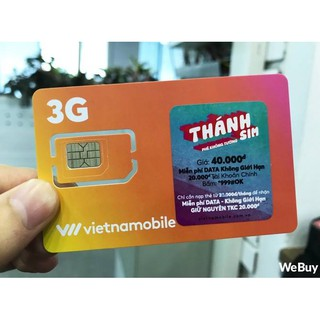 Thánh sim Vietnam Mobile tặng 120gb/tháng tốc độ cao