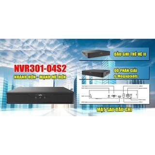 Đầu Ghi Camera IP 4 Kênh UNV NVR301-04S2