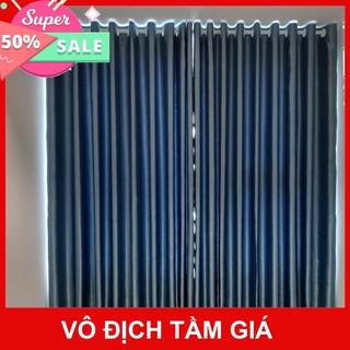 Yêu Thích[HÀNG CAO CẤP] RÈM CỬA xanh dương chống nắng cực tốt 🔆, sang trọng, nhiều kích cỡ, hoạ tiết - Rèm Cửa Thanh Minh