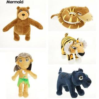 💖Bear Panther Snake Tiger Wolf Child Snake Cartoon Animal Plush Stuffed Toy