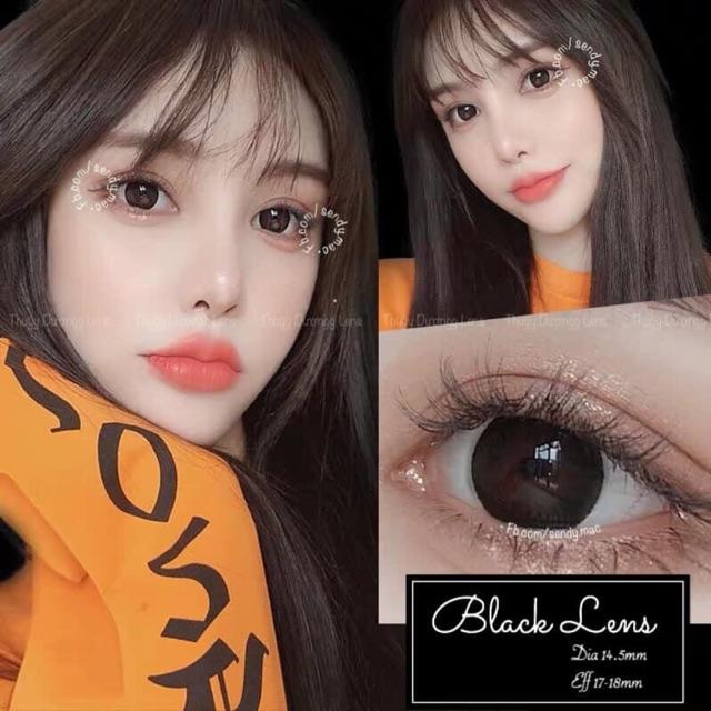 [Kính Áp Tròng] Black Lens