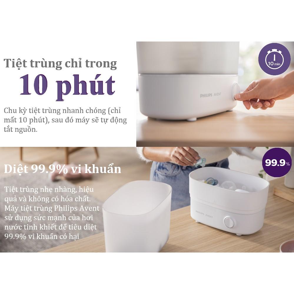 HCM - Nowship 2H] Máy tiệt trùng bình sữa thế hệ mới Starlight Philips Avent  SCF291/00 giá cạnh tranh