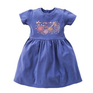 Đầm vải bé gái Amprin D125- D140- D170