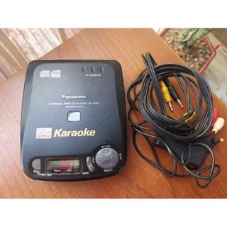 Máy nghe nhạc chạy đĩa CD, VCD Panasonic SL-VP55 Karaoke Made in Japan