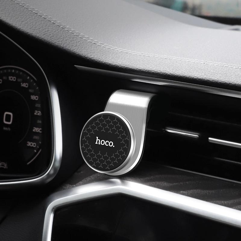 Giá đỡ điện thoại kẹp cửa gió ô tô chính hãng Hoco Ca59