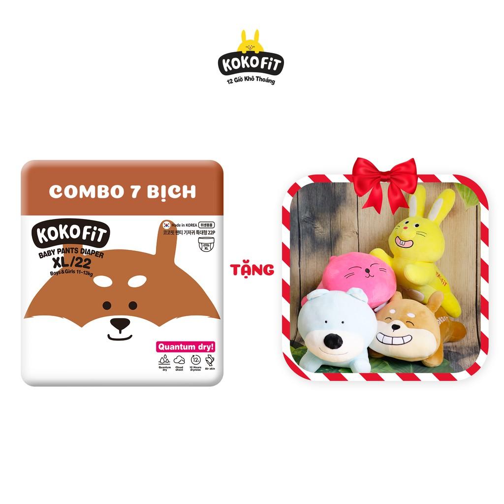- Combo 7 Tã/Bỉm dán/quần KOKOFiT Hàn Quốc