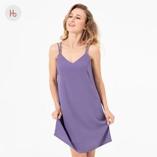 Đầm mặc ngủ 4 dây đan chéo Hibi HB102 thumbnail