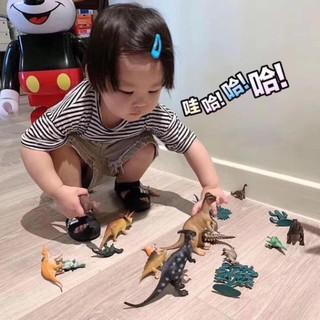 Bộ đồ chơi khủng long 19 chi tiết – Mô hình đồ chơi khủng long – Bộ đồ chơi mô hình thế giới khủng long sinh động