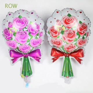 ROW Hot Sale Fashion Valentine Anniversary Home Wedding Supplies Foil Balloons
