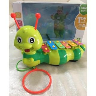 Sale đồ chơi cho bé – Đàn Xylophone hình con sâu 
