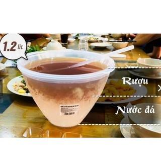Bộ Bát Đựng Rượu , Ngâm Nóng Rượu Và Ướp Lạnh Trái Cây Tặng Kèm Muỗng Múc GD188 thumbnail